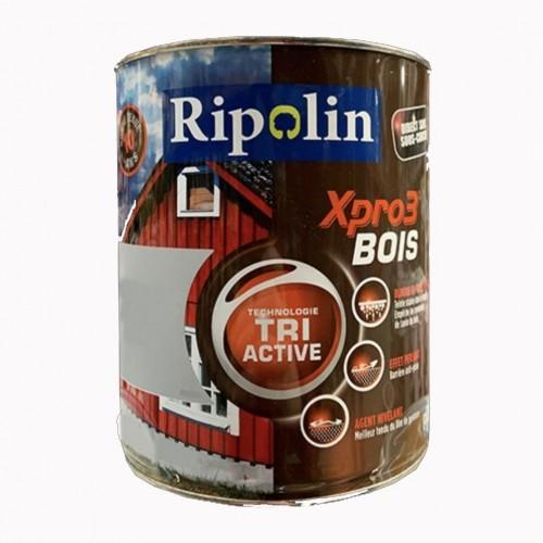 RIPOLIN Peinture Acrylique Xpro3 Tri Active Bois Blanc