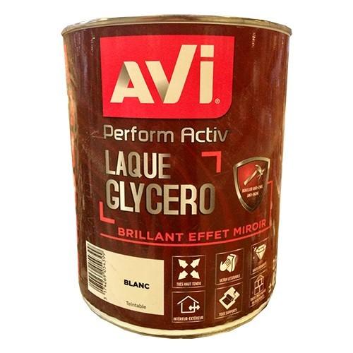 AVI Perform Activ Laque Glycero Blanc brillant