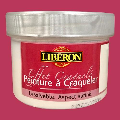 LIBÉRON Effet craquelé 0,25L Rose fushia