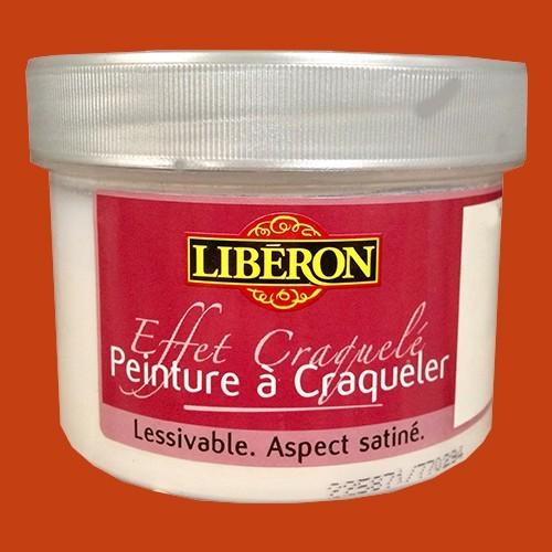 LIBÉRON Effet craquelé 0,25L Mandarine