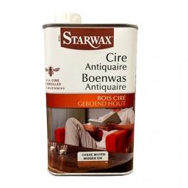 STARWAX Cire antiquaire 500ml Chêne moyen