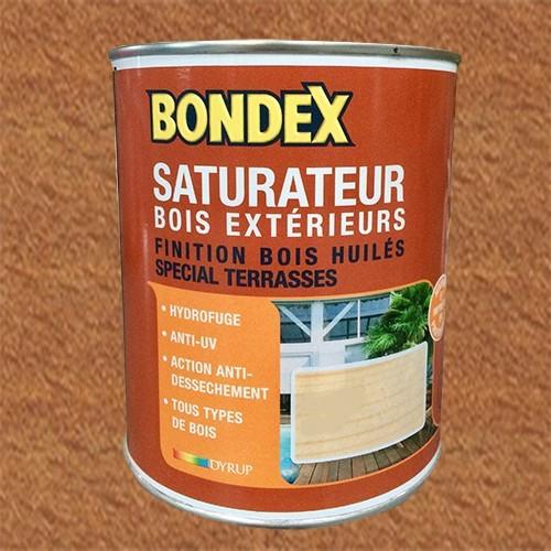 BONDEX Saturateur Bois Extérieur Teck
