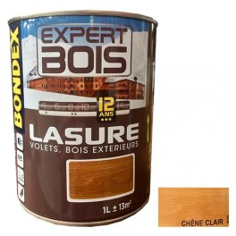BONDEX Lasure Expert Bois 12 ans Chêne clair