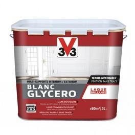 V33 Laque Blanc Glycéro Brillant