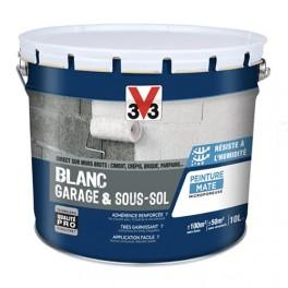V33 Peinture Blanc Garage & Sous-sol