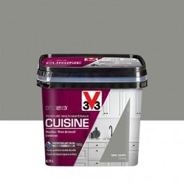 V33 Déco LAB Peinture Multi-Matériaux Cuisine Gris taupe