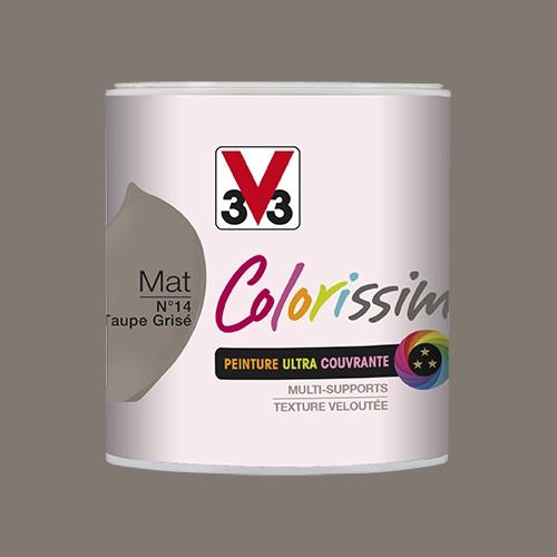 Peinture V33 Colorissim Mat Taupe grisée n°14