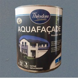 THEODORE Peinture Aquafaçade 2,5L Graphite