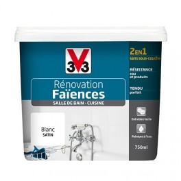 V33 Rénovation Faïences Blanc Satin