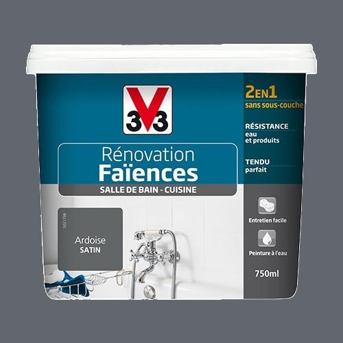 V33 Rénovation Faïences Ardoise Satin