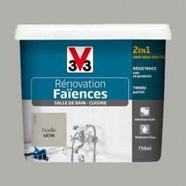 V33 Rénovation Faïences Ficelle Satin