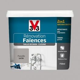 V33 Rénovation Faïences Flanelle Satin