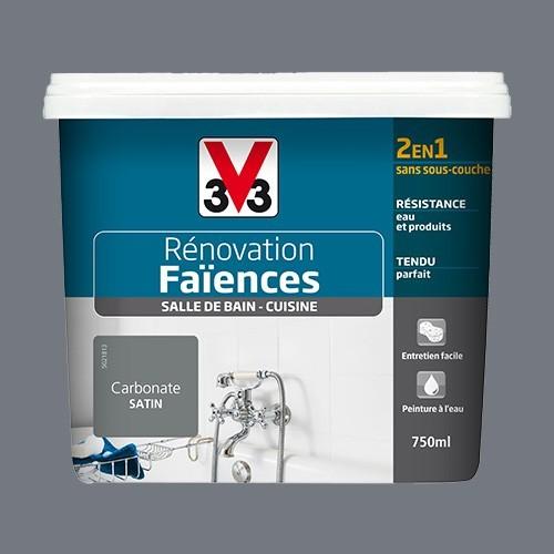 V33 Rénovation Faïences Carbonate Satin