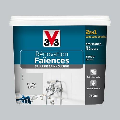 V33 Rénovation Faïences Plume Satin