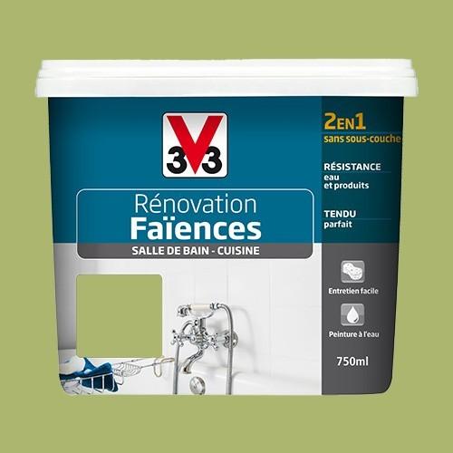 V33 Rénovation Faïences Absinthe Satin