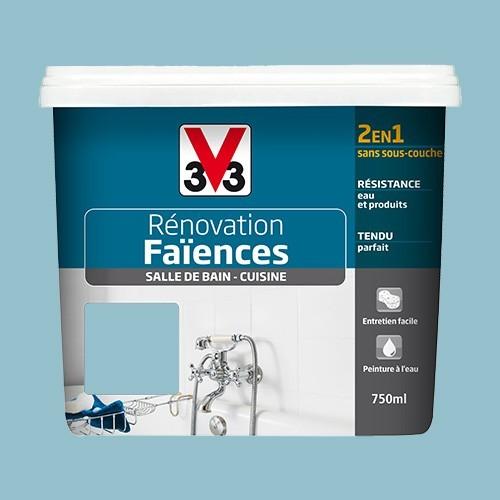 V33 Rénovation Faïences Azur Satin