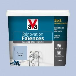 V33 Rénovation Faïences Brume Satin