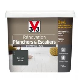 Peinture V33 Rénovation Planchers & Escaliers (Stratifiés-Bois) Tarmac