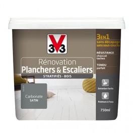 Peinture V33 Rénovation Planchers & Escaliers (Stratifiés-Bois) Carbonate