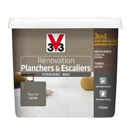 Peinture V33 Rénovation Planchers & Escaliers (Stratifiés-Bois) Racine