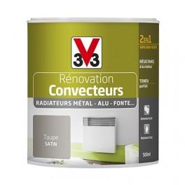 Peinture V33 Rénovation Convecteurs/Radiateurs 0,5L Taupe