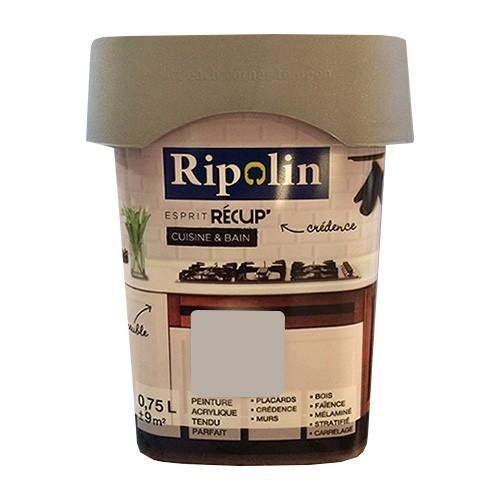 RIPOLIN Peinture Esprit Récup' Cuisine & Bain Taupe