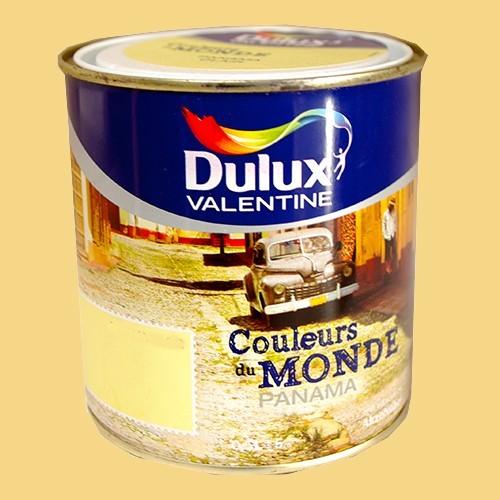 Dulux valentine couleurs du monde panama moyen pas cher en ligne for Peinture couleur mur pas cher