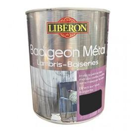 LIBÉRON Badigeon Métal Lambris & Boiseries Carbone fumé