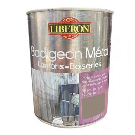 LIBÉRON Badigeon Métal Lambris & Boiseries Titane poli