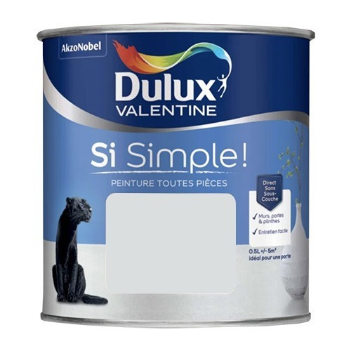 Dulux Valentine Peinture Si Simple! Le Gris pastel