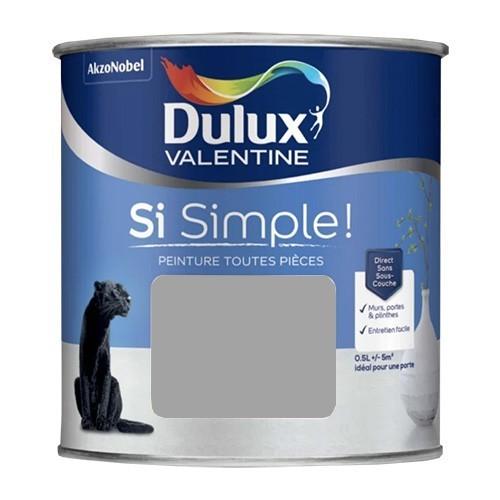Dulux Valentine Peinture Si Simple! Le Gris foncé