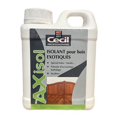 Isolant pour bois exotiques Cécil Professionnel AX ISOL