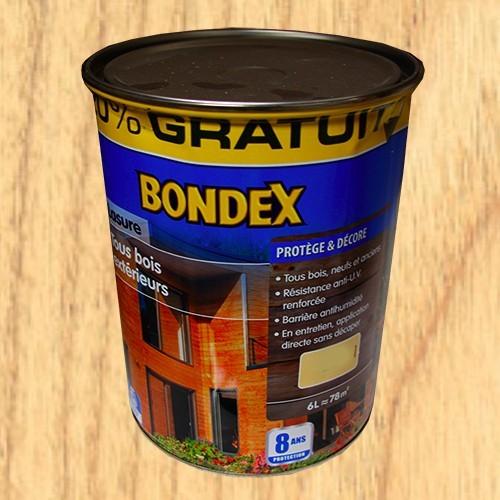 bondex lasure tous bois ext rieur 8 ans incolore pas cher en ligne. Black Bedroom Furniture Sets. Home Design Ideas