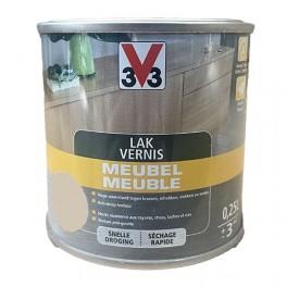 V33 Vernis Meuble Blanc satin