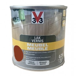 V33 Vernis Meuble Acajou satin