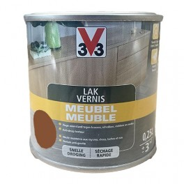 V33 Vernis Meuble Chêne foncé Mat