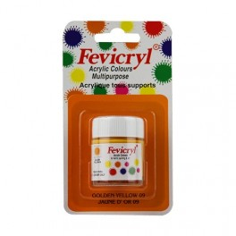 AMT Fevicryl Tous Supports 15mL Jaune D'Or (AC1509)