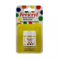AMT Fevicryl Tous Supports 15mL Jaune Citron (AC1511)