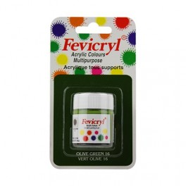 AMT Fevicryl Tous Supports 15mL Vert Olive (AC1516)