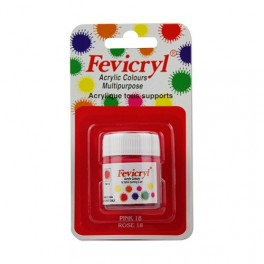 AMT Fevicryl Tous Supports 15mL Rose (AC1518)