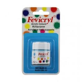 AMT Fevicryl Tous Supports 15mL Bleu Ciel (AC1533)