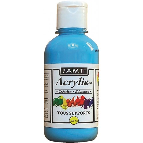 AMT Fevicryl Acrylique éducative & créative Bleu Ciel (ACE214)