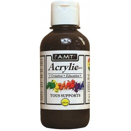 AMT Fevicryl Acrylique éducative & créative Brun (ACE218)