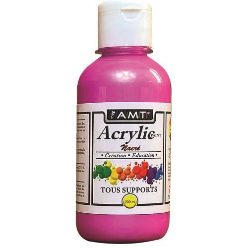 AMT Fevicryl Acrylique éducative & créative Fushia Nacré (ACE244)