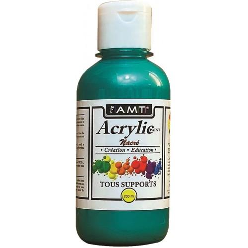 AMT Fevicryl Acrylique éducative & créative Vert Nacré (ACE247)