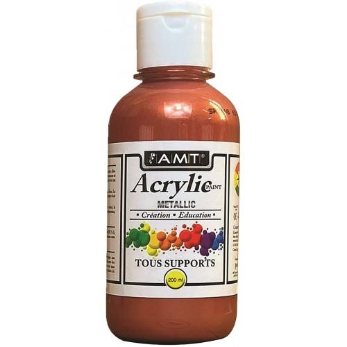 AMT Fevicryl Acrylique éducative & créative Cuivre Métallisé (ACE261)
