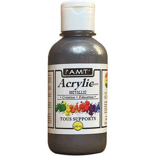 AMT Fevicryl Acrylique éducative & créative Etain Métallisé (ACE264)