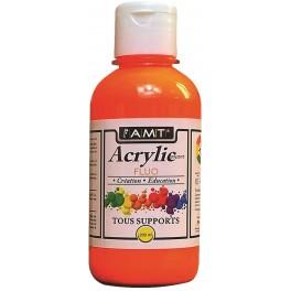 AMT Fevicryl Acrylique éducative & créative Orange Fluo (ACE281)