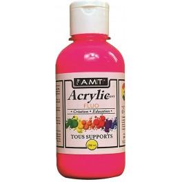 AMT Fevicryl Acrylique éducative & créative Rose Fluo (ACE282)