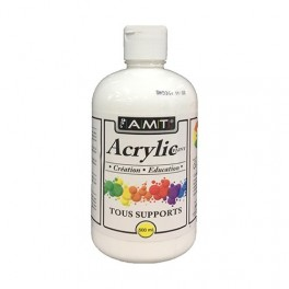 AMT Fevicryl Acrylique éducative & créative Blanc (ACE01)